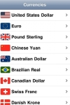 Currencies - lodestar.com screenshot 1/1