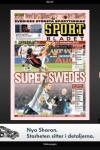 Sportbladet for iPad screenshot 1/1