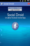 Social Droid screenshot 1/3