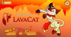 Lava Cat screenshot 2/3