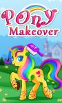 Little Pony Makeover Kids Game screenshot 1/4