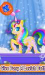 Little Pony Makeover Kids Game screenshot 3/4