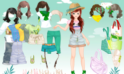 Girl Dressup II screenshot 2/4