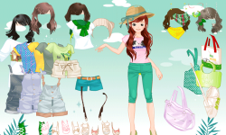 Girl Dressup II screenshot 3/4
