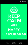 Happy Ied Mubarak HD Wallpaper screenshot 1/6