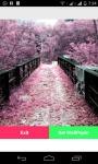 Sakura LiveWallpaper screenshot 1/4