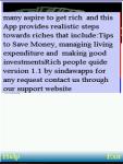 Rich people guide screenshot 1/2