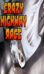 Crazy Highway Race Free screenshot 1/2