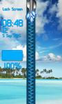 Palm Beach Zipper Lock Screen screenshot 4/6