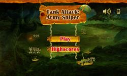 Tank Attack Army Sniper screenshot 1/5