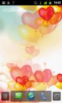 Heart Balloons LWP screenshot 1/4