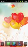 Heart Balloons LWP screenshot 2/4