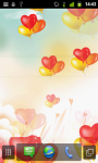 Heart Balloons LWP screenshot 3/4