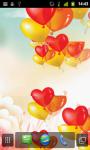 Heart Balloons LWP screenshot 4/4
