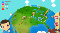 Geography Quiz Game 3D Free screenshot 2/6