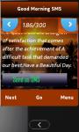 Good Morning SMS Messages screenshot 2/3