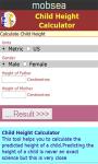 Child Height Calculator v-1 screenshot 2/3