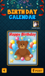 Birthday Calendar for Facebook screenshot 3/4
