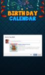 Birthday Calendar for Facebook screenshot 4/4