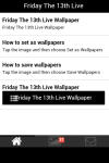 Friday The 13th Live Wallpaper screenshot 2/5
