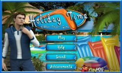 Free Hidden Object Game - Holiday Time screenshot 1/4