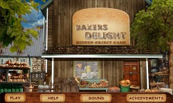 Free Hidden Object Game - Bakers Delight screenshot 1/4