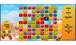 Jewels Candy Mania Saga screenshot 1/3