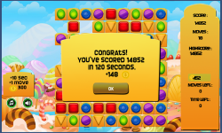 Jewels Candy Mania Saga screenshot 2/3