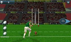 Rugby Flick Kick Shoot 3D screenshot 3/6