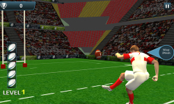 Rugby Flick Kick Shoot 3D screenshot 5/6
