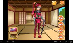 Katana Dress Up screenshot 2/4