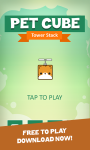 Pet Cube: Tower Stack screenshot 1/4