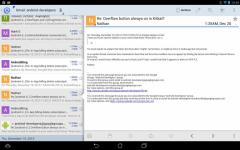 Aqua Mail Pro Key next screenshot 1/6