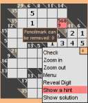 k4kur0 - a Kakuro game screenshot 1/1