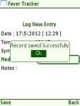 Fever Tracker  Free screenshot 3/6