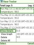 Fever Tracker  Free screenshot 6/6