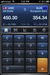 iCurrency Pad  ~  The Currency Exchange Rates Converter screenshot 1/1
