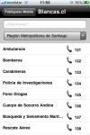Blancas.cl screenshot 1/1