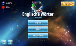 English Words Learning Game for Germans screenshot 6/6