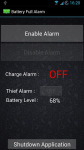 Full Battery and Theft Alarm screenshot 1/4
