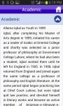 Allama Iqbal History Legendary Urdu Poet screenshot 2/3