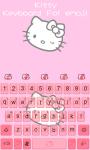 Kitty Theme -Emoji Gif Keyboard screenshot 3/5