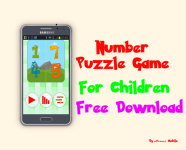 Puzzle Game Number for kids screenshot 1/5