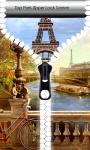 Top Paris Zipper Lock Screen screenshot 1/6