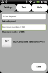 SMS Shell Commander FREE screenshot 2/6