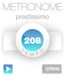 Metronome V1.01 screenshot 1/1