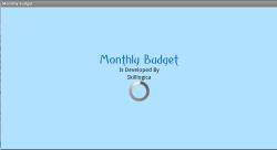 MonthlyBudget screenshot 1/6