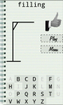 Hangman classic word game screenshot 3/6