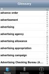 The Marketing Glossary screenshot 1/1
