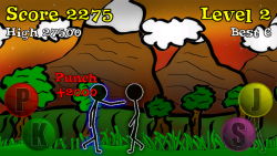 Sticky Ninja HD screenshot 1/5